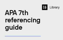 APA 7th Referencing Guide
