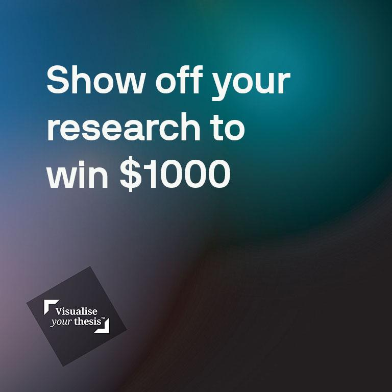 Show off your research and win $1000