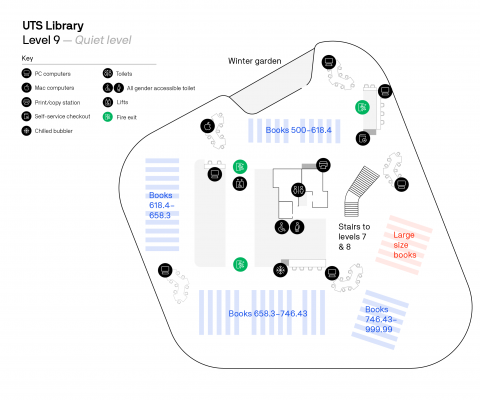 UTS Library  (Level 9 - Quiet Level)